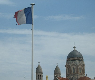 flag at st raphael